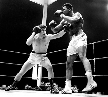Karl Mildenberger fight against Muhammad Ali